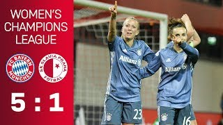 FC Bayern vs. SK Slavia Praha 5-1 | UEFA Women's Champions League 2018/19 - Quarter-Final | ReLive