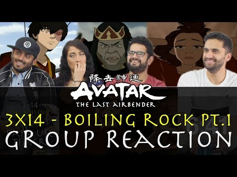 Avatar: The Last Airbender -  3x14 Boiling Rock Part 1 - Group Reaction