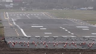 Birmingham Airport runway extension - 6th February 2014