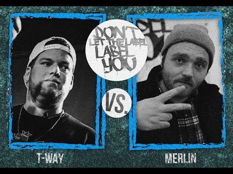 T-Way Vs Merlin // DLTLLY RapBattle (München) // 2017