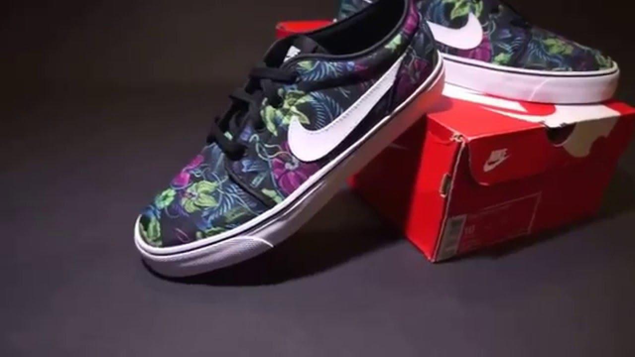 "info for ecd5c 81975 Nike Toki Low ""Smoky Lotus"" Print Floral 631697-011 - YouTub"