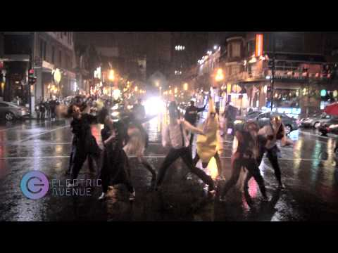 Flashmob Halloween Michael Jackson thriller Club Electric Avenue Montreal