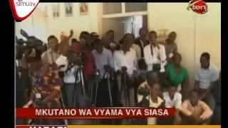 Mkutano Wa Kutafuta Suluhu Ya Vuguvugu La Siasa Nchini