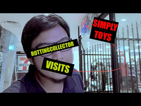 Rottingcollector Visits Simply Toys with Special Guest THE WIFE!