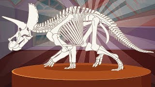 Dinosaur Fossils Mission (5 Skeletons) | Eftsei Gaming