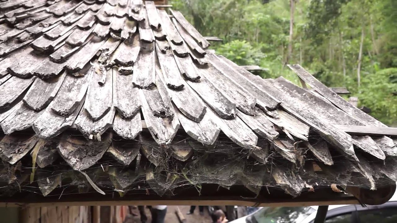 How to make bamboo roof shingles youtube for Bamboo roofing materials