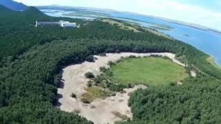 поселок Боровое озеро Боровое с высоты