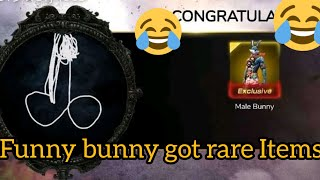 Funny bunny got #rare_items
