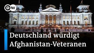 Großer Zapfenstreich nach Ende des Afghanistan-Einsatzes der Bundeswehr   DW Nachrichten