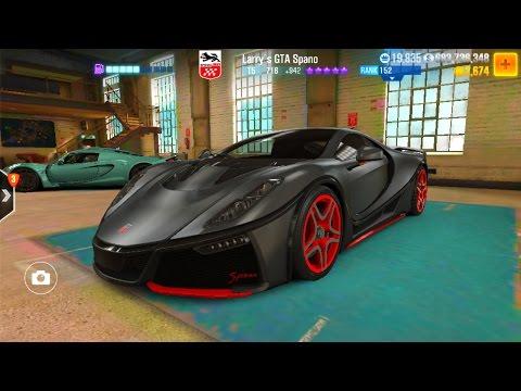 CSR 2 Larry's GTA Spano Tune
