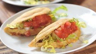 Quesadillas De Papa Con Chorizo - Mexican Quesadillas - Recetas De Cocina Mexicana