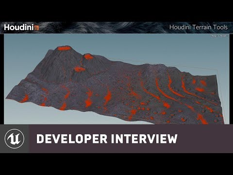 Houdini Tools with SideFX | Developer Interview | Unreal Engine Livestream