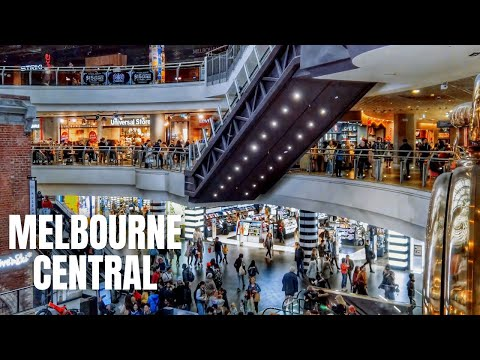 Melbourne Central Shopping Centre & Emporium Melbourne Shopping Tour【2019】