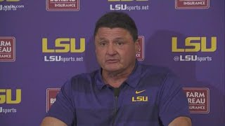 Coach O talks LSU's 29-0 loss to Alabama