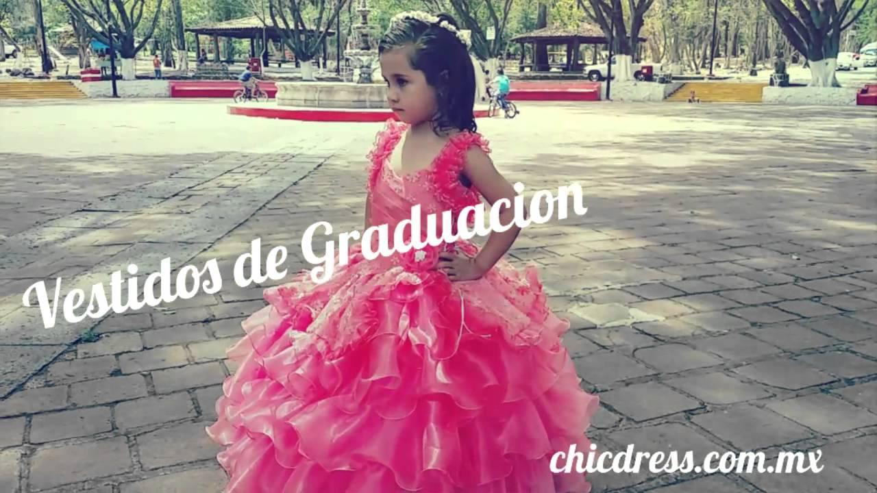 Vestido De Graduacion Para Kinder Nina En Preescolar Youtube