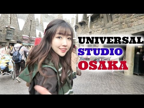 VLOGMAS DAY 12 | HARRY POTTER at UNIVERSAL STUDIO OSAKA