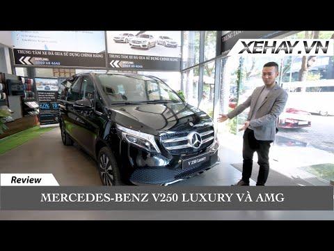 Lại là Mercedes. Đây là chiếc MPV đáng mua nhất phân khúc? V 250 Luxury và AMG | XE HAY