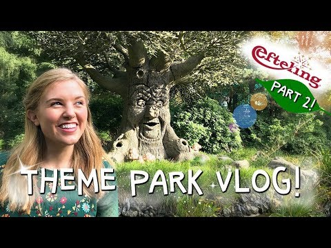 Efteling Theme Park, The Fairytale Forest! #2 | Maddie Moate