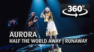 AURORA - HALF THE WORLD AWAY | RUNAWAY - 360 Angle - The 2015 Nobel Peace Prize Concert