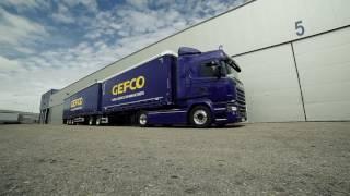 Gefco Spain  Megacamion Megatruck Video