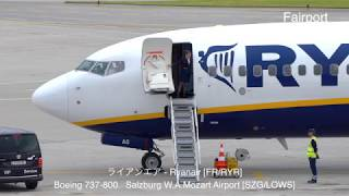 【4K plane spotting】Plane spotting  Airplane Door Opening And Closing and Airstairs