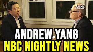 Andrew Yang NBC Nightly News Interview on Healthcare | November 20th 2019