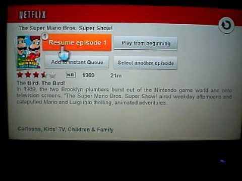 Netflix Wii Demonstration
