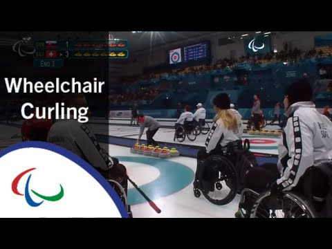 Wheelchair curling: Slovakia v Switzerland | Round Robin | 2018 Paralympic Games | LIVE