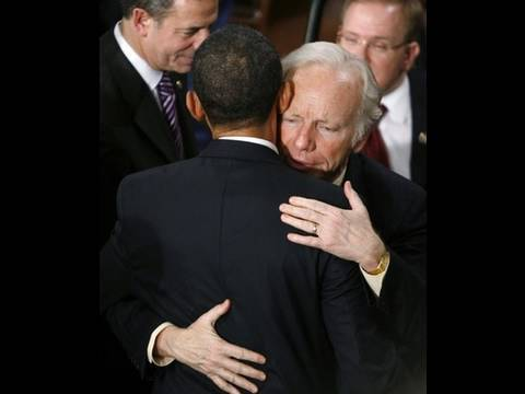Pathetic: Barack Obama Caves into Joe Lieberman