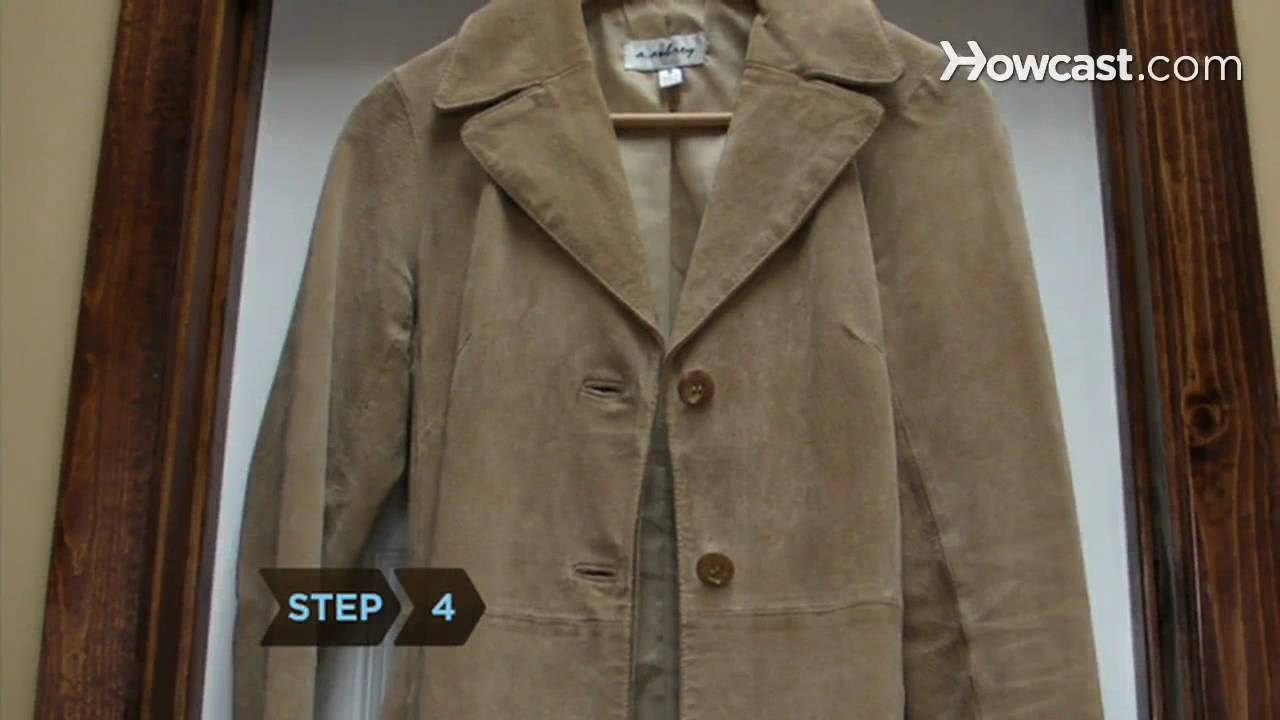 How To Clean Suede Youtube