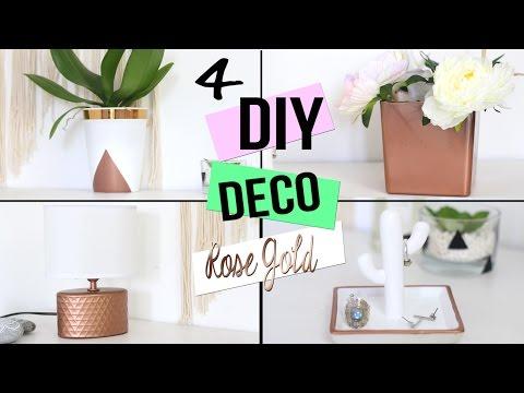 DIY DECO ┋ CUIVRE - ROSE GOLD POUR CHAMBRE / SALON/ BUREAU ...