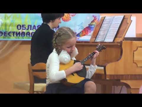 Фрагменты с областного фестиваля — конкурса «Малыш на сцене»
