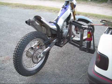 Bike carrier porte moto trial dirt cross sur for Porte u moto