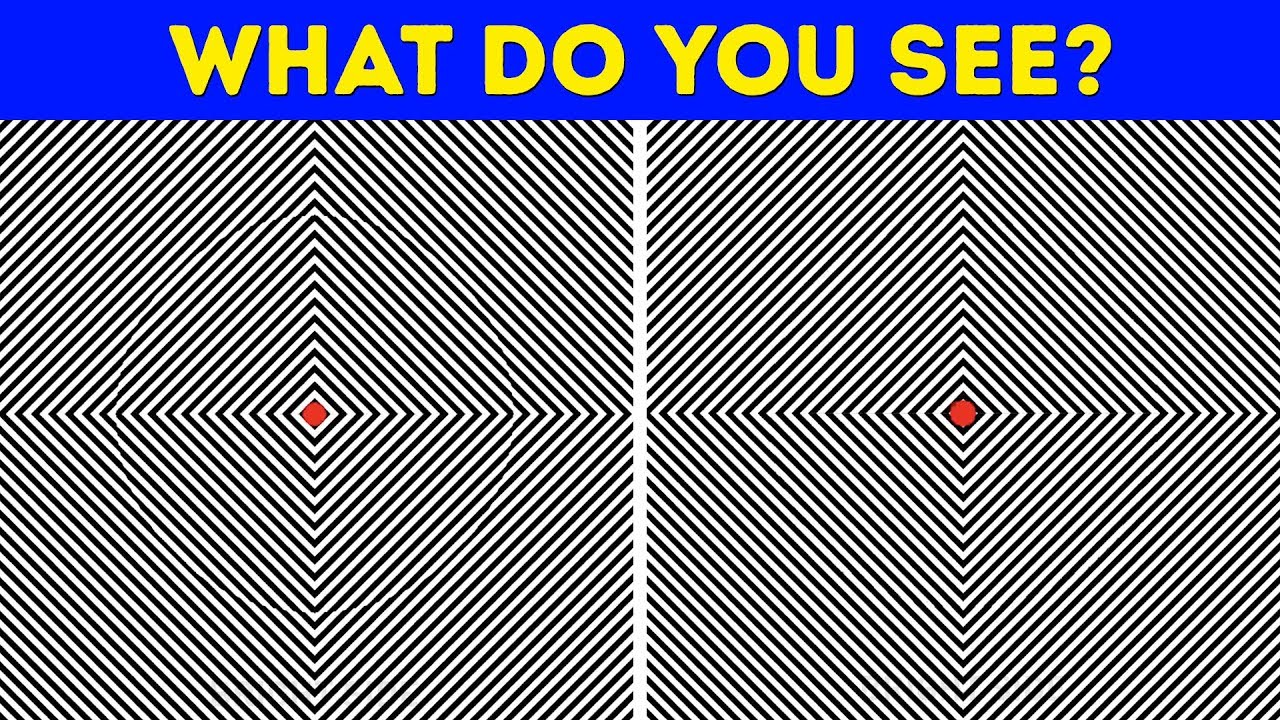 optical illusions tricky