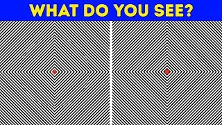 15 TRICKY OPTICAL ILLUSIONS