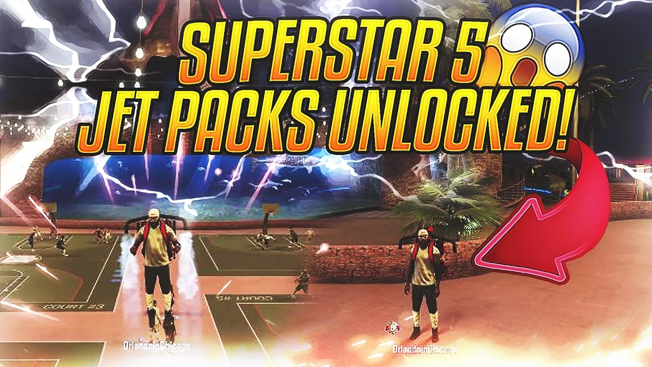 Download NBA 2K17 FIRST SUPERSTAR 5 JET PACK EXPERIENCE