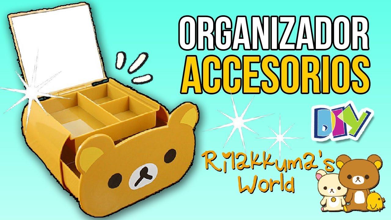 Haz un organizador de accesorios de rilakkuma manualidades f ciles kawaii decora tu - Como hacer un organizador de zapatos casero ...