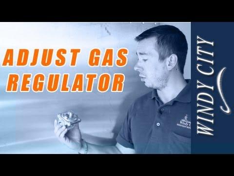 How to adjust gas pressure, adjust gas regulator tutorial DIY Windy City Restaurant Equipment Parts