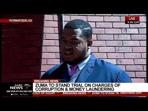 REACTION: Zuma to stand trial on corruption charges