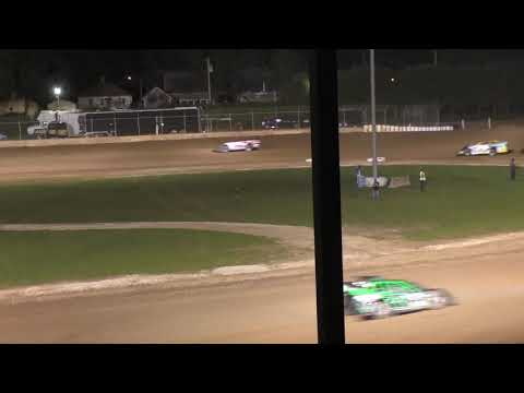 Plymouth Dirt Track Late Model Feature 5-25-2019