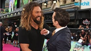 Jason Momoa And Henry Cavill's Budding Bromance