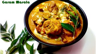 chicken curry with coconut milk Kerala Style