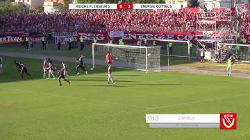 Aufstiegshinspiel - SC Weiche Flensburg 08 - FC Energie Cottbus - Die Highlights