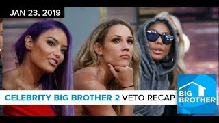 Celebrity Big Brother Night 3 Recap LIVE | Wed, Jan 23, 2019 #Cbbus2 #bbceleb
