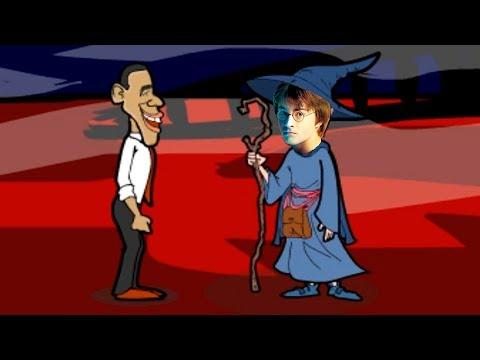 OBAMA AYUDA A HARRY POTTER | Obama Saw Game (Obama in The Dark 4) | Solución Completa Parte 2