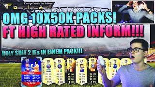 FIFA 16: PACK OPENING (DEUTSCH) - FIFA 16 ULTIMATE TEAM - 10x50K PACKS! HOLY SHIT HIGH RATED INFORM!