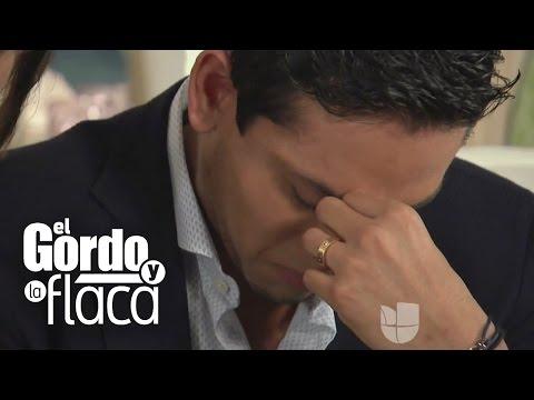 Hijo de Juan Gabriel rompe en llanto en plena entrevista