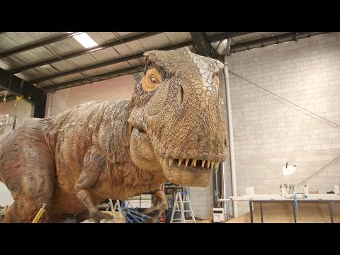 Inside the Factory Where Robotic Dinosaurs Come to Life