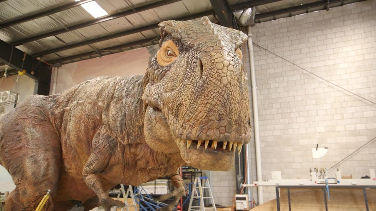 Inside the Factory Where Robotic Dinosaurs Come to Life ...