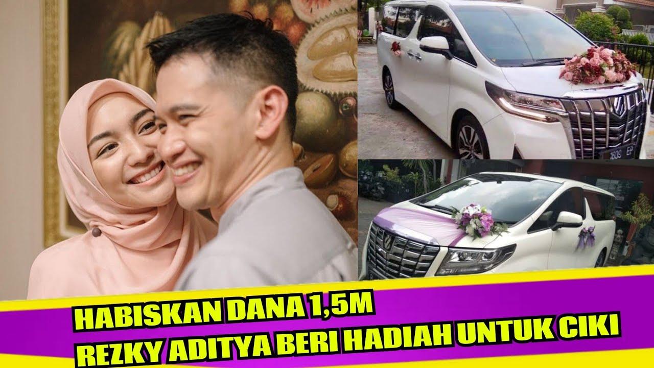 Habiskan Dana 1 5m Rezky Aditya Siapkan Hadiah Mobil Mewah Untuk Citra Kirana Youtube